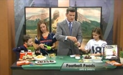 KWGN Muy Bueno football foods 2