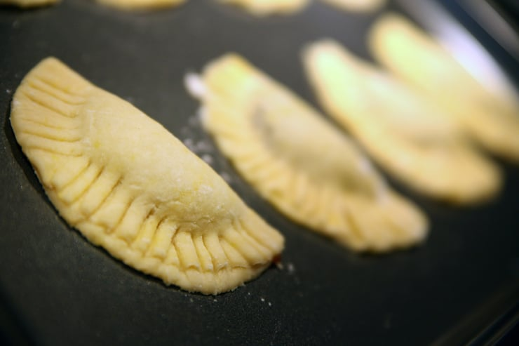 uncooked pumpkin empanada camote ready to bake