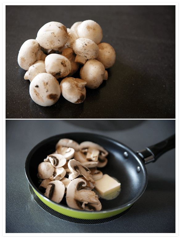 Spicy Mushroom Torta with Queso Quesadilla - Muy Bueno ...