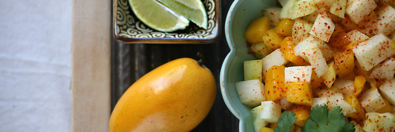 Mango, Jicama, and Cucumber Salad - Muy Bueno Cookbook