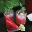 agua de sandia watermelon water