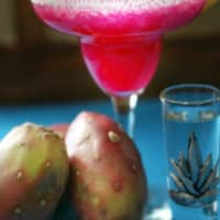Prickly Pear Frozen Margarita