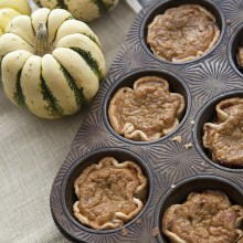 Mini Pumpkin Pies-muffin-tin-1