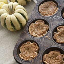 Mini Pumpkin Pies-muffin-tin-1