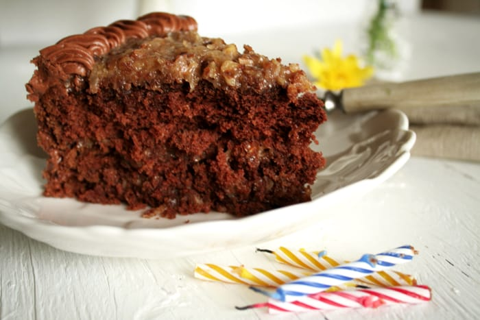 (Texas Sheet Cake With Mexican Chocolate Spices) With Sugar Spiced ...