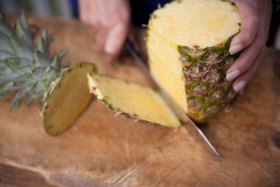 standing pineapple - How to Select and Cut a Pineapple