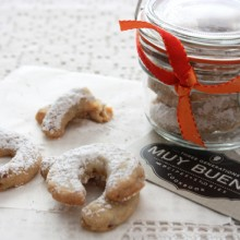 Cuernitos de Nuez Butter Pecan Cookies 1