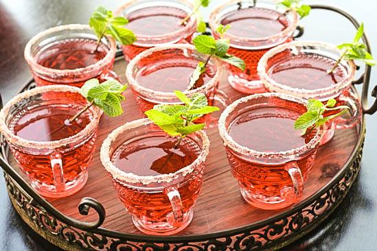 Hibiscus Margarita Punch - Muy Bueno Cookbook