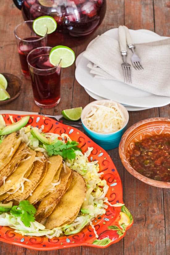 potato tacos lent dish