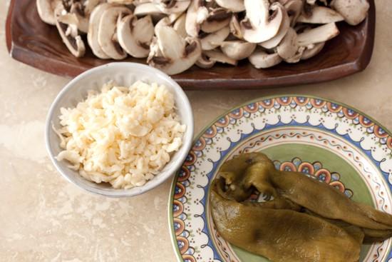 mushrooms-cheese-chile