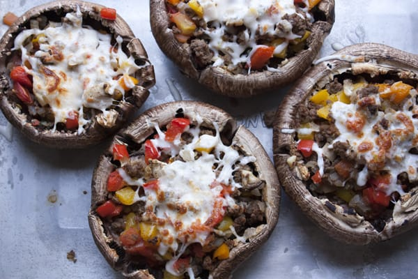 Portobello_Mushrooms-picadillo-baked
