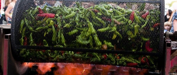 Roasting-Chilies