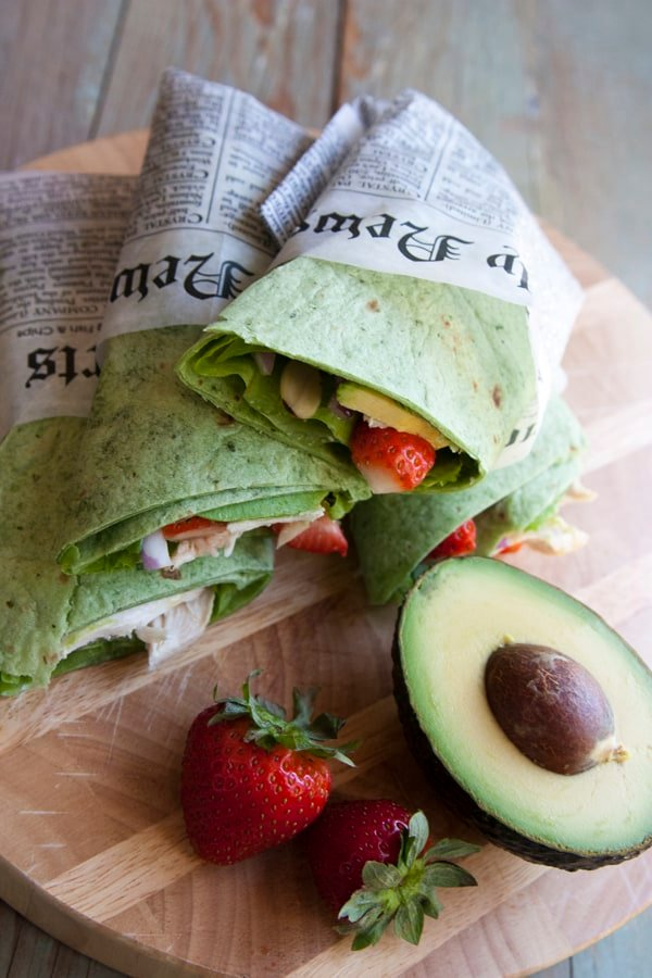 chicken_salad_wrap-avocado-strawberries