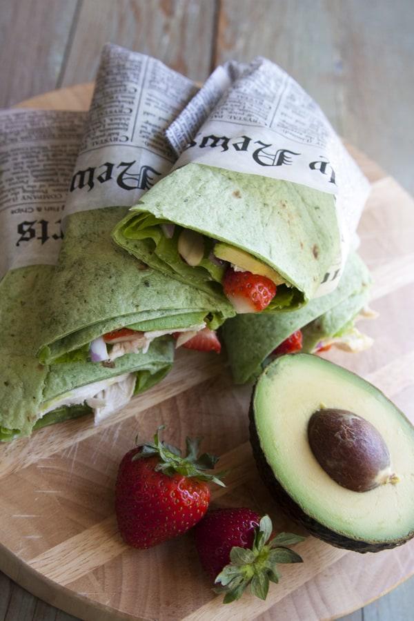 chicken_salad_wrap-avocado-strawberries