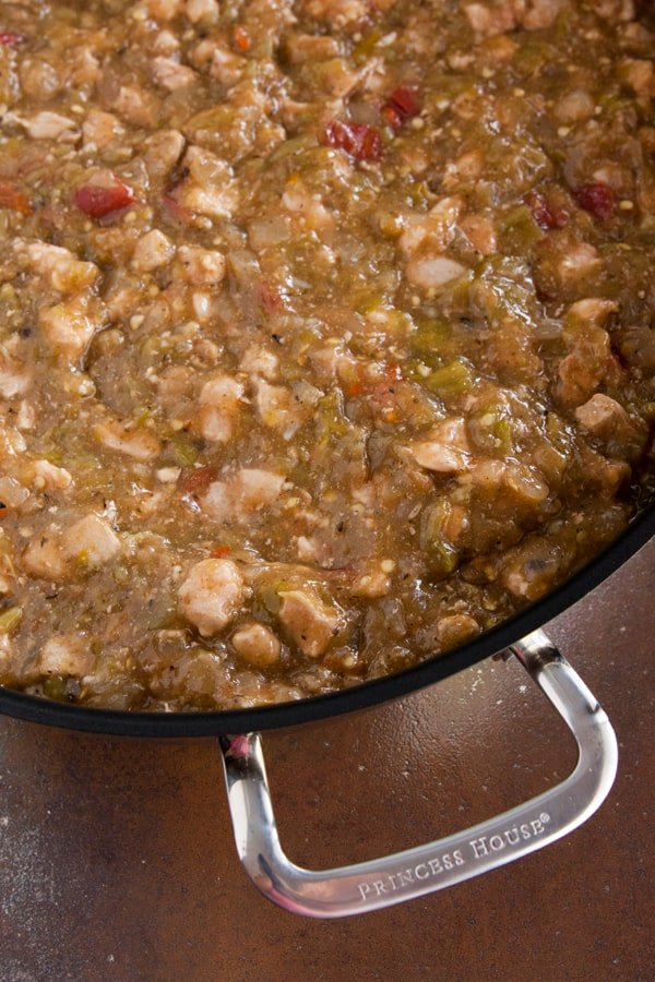 pork green chile (Colorado style)