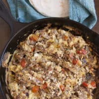 Machaca con Huevo (Machaca with Eggs)