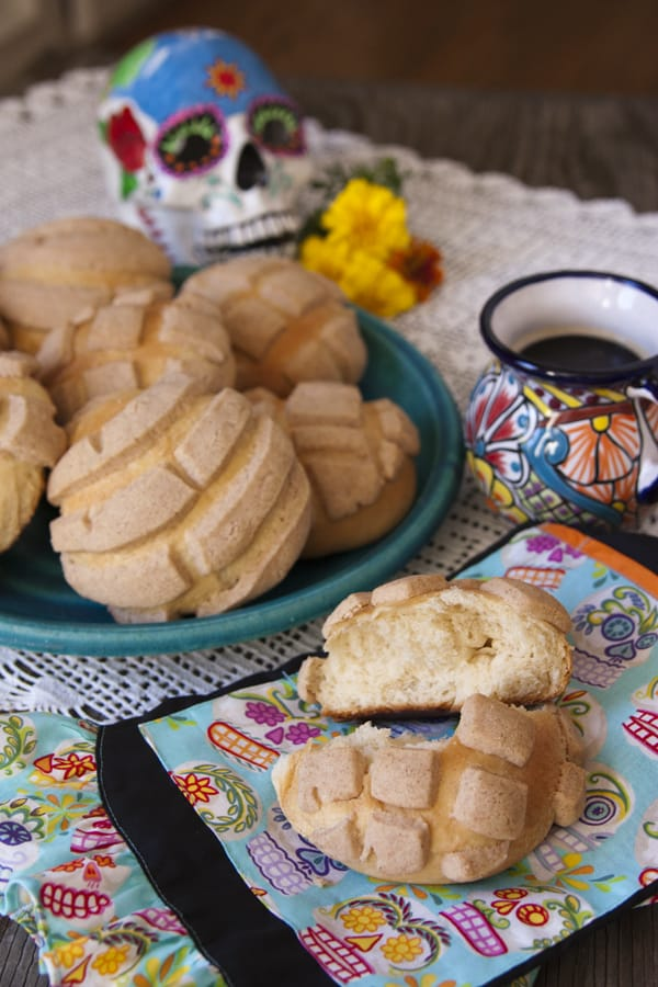 Mexican sweet bread hair bowconchas bowcookie bowMexican sweets