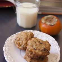 Persimmon_Cookies_Raisins_Nuts