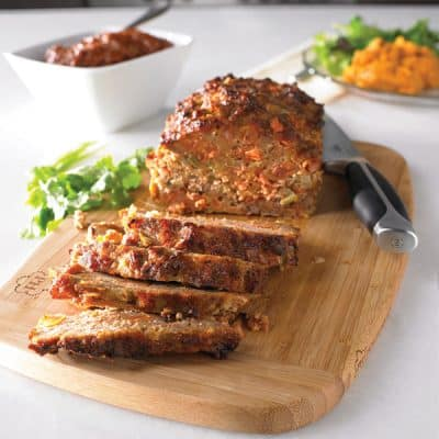 Chorizo and Chipotle Meatloaf