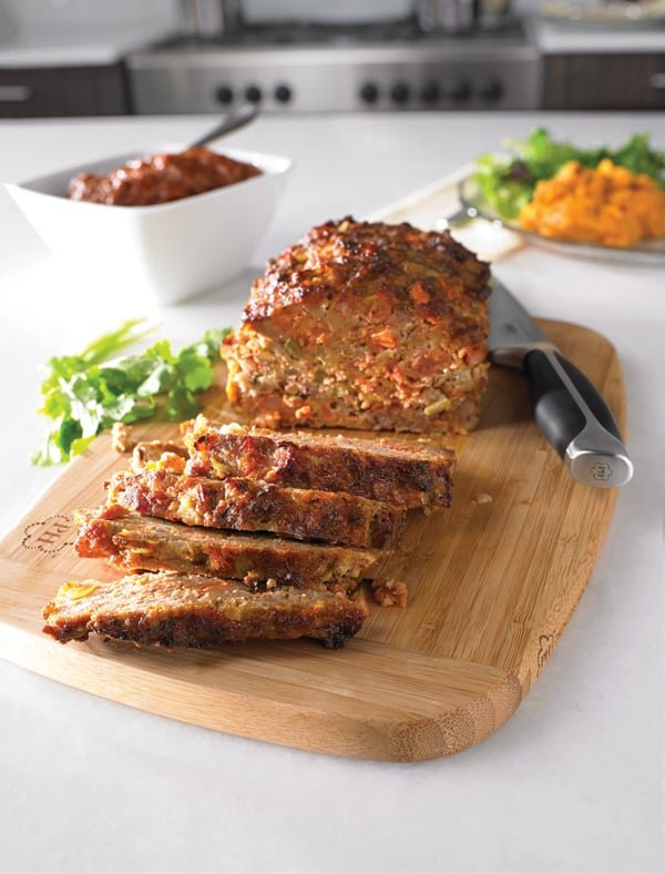 Chorizo and Chipotle Meatloaf with a Spicy Chipotle Glaze and Chipotle ...