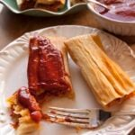 red chile pork tamales 2
