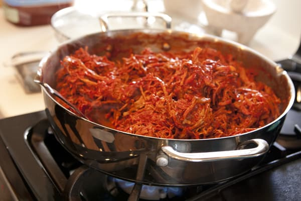 red chile pork