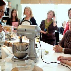 tamale masa dough in KitchenAid 2