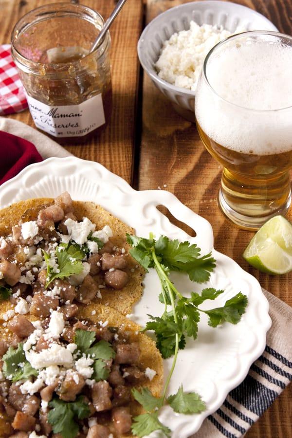 pork fig jalapeno tacos