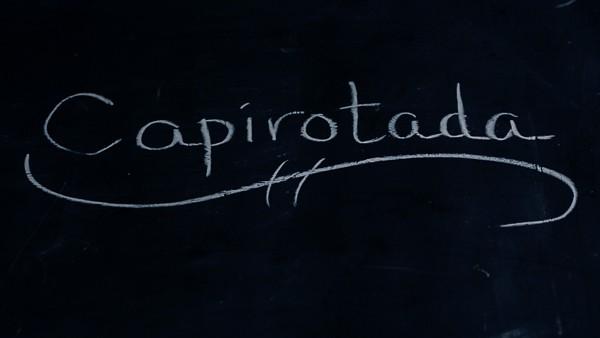 Capirotada sign
