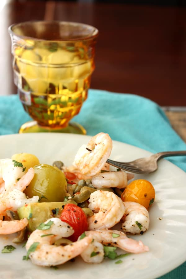 Holy Week Shrimp Camarones