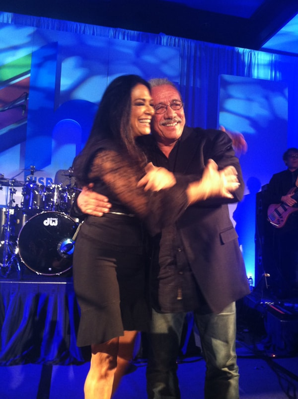 Sheila E. Edward James Olmos
