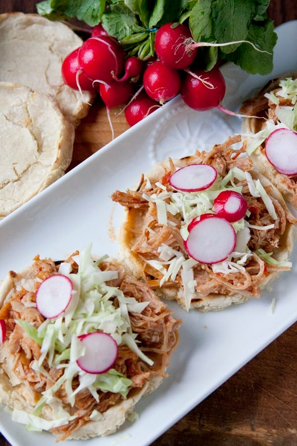Pork Tinga Sopes