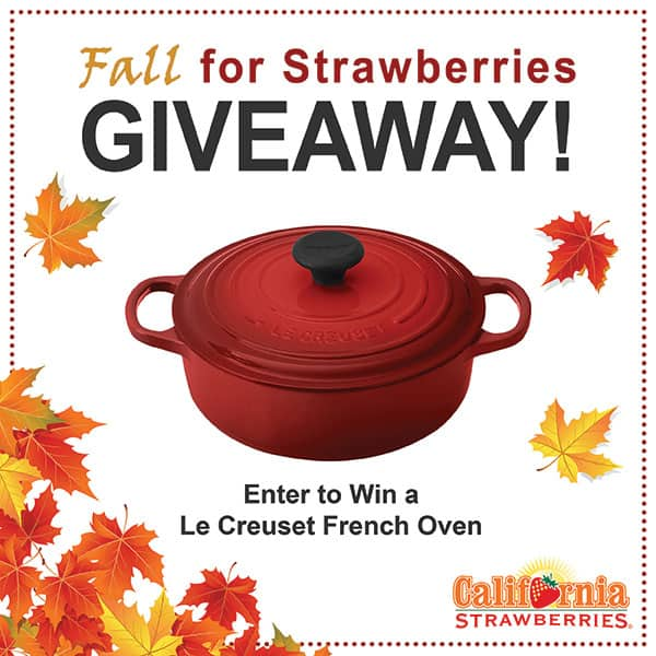 Fall for Strawberries Giveaway