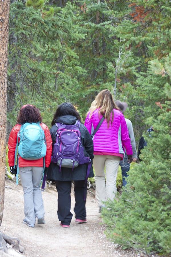 Grand Teton National Park hiking