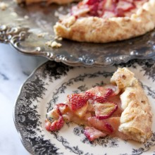 apple strawberry galette 2