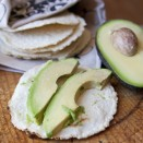 corn tortillas and avocado aguacate