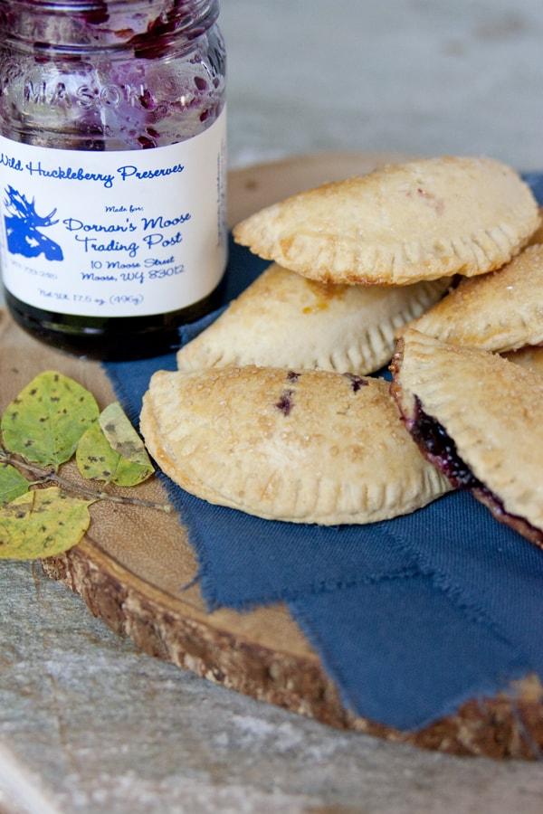 huckleberry empanadas