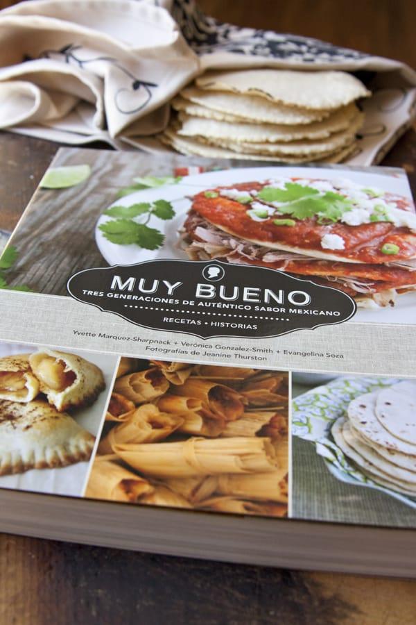 muy bueno cookbook corn tortillas