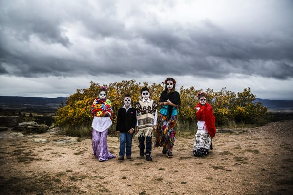 Day of the Dead children