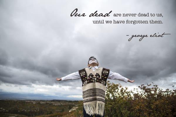 Dia de los muertos george eliot quote