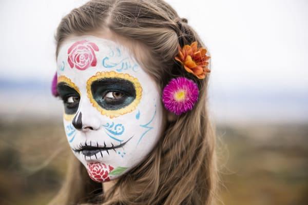 dia de los muertos day of the dead makeup girl