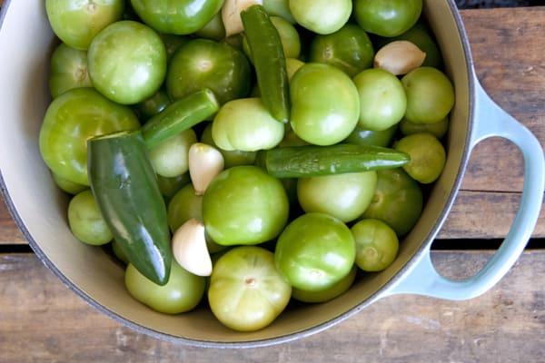 cooked green salsa verde