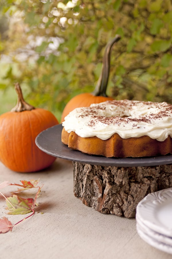 pumpkin apple bundt cake