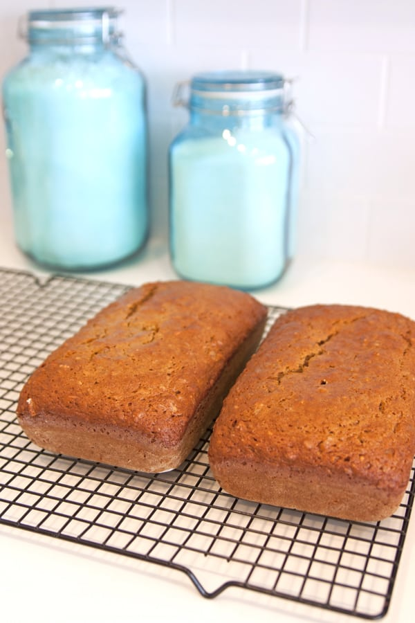baked pumpkin bread-2
