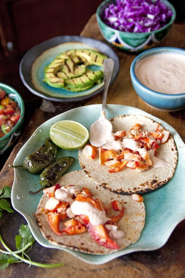 lobster crema mexicana chipotle
