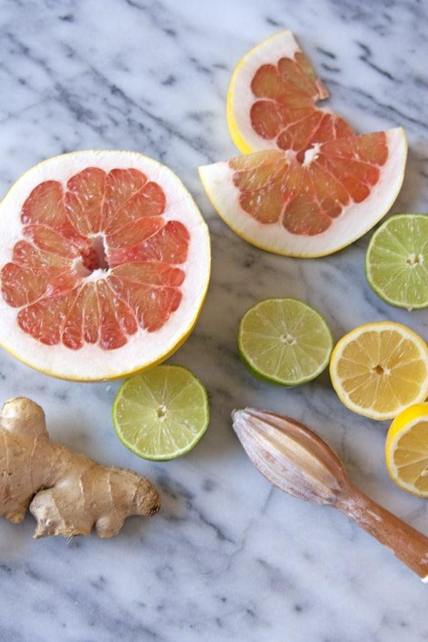 pomelo ginger lemon lime