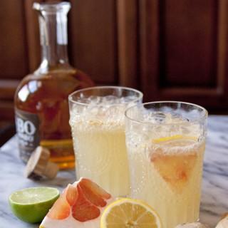 pomelo ginger margarita