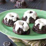 Chocolate-Stout Mini Bundt Cakes
