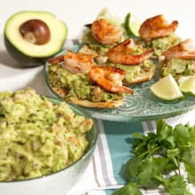 grilled shrimp guacamole