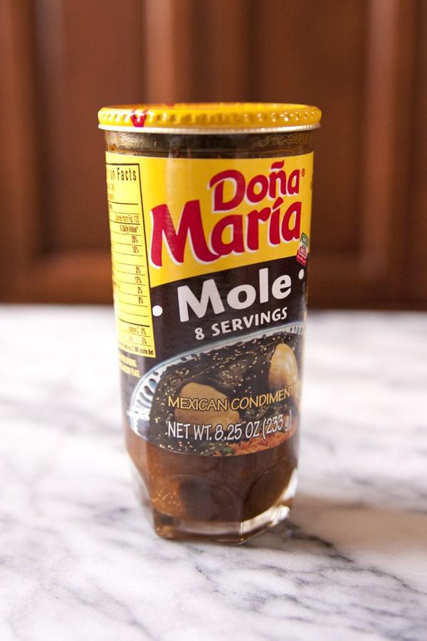jar of dona maria mole